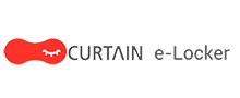 Curtain e-locker logo