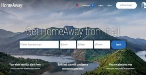 Logo of HomeAway
