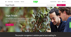Logo of Sage People