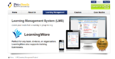 LearningWare screenshot