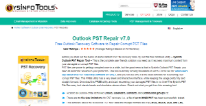 Logo of SysInfo Outlook PST Repair