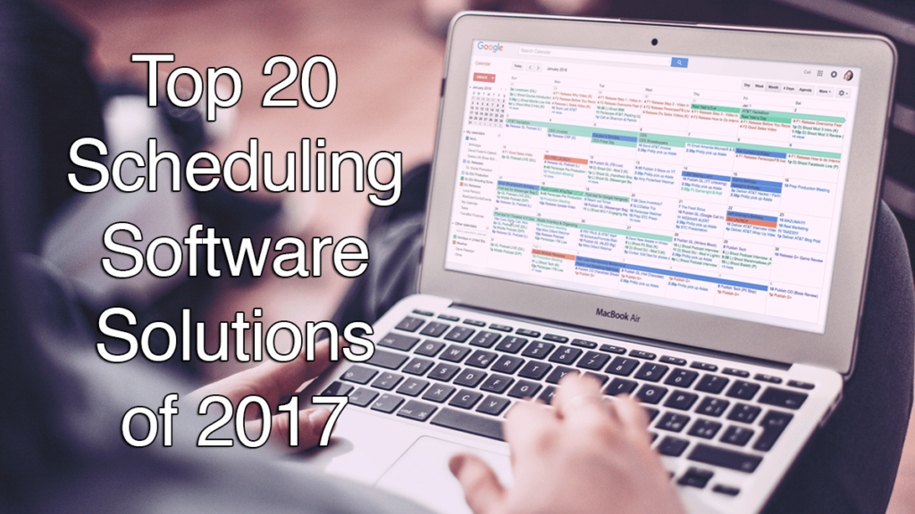 Top 20 Appointment Scheduling Software Solutions of 2018 ...