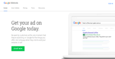 Google AdWords screenshot
