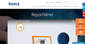 Logo of ReportMiner