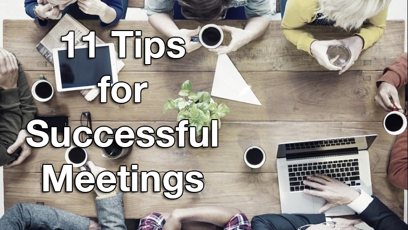 11 Tips for Successful Meetings