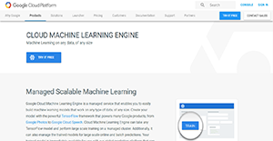 Logo of Cloud Machine Learning Engine