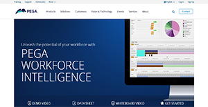 Logo of Pega Workforce Intelligence