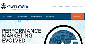 Logo of RevenueWire