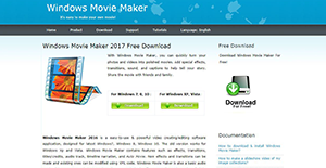 Logo of Windows Movie Maker