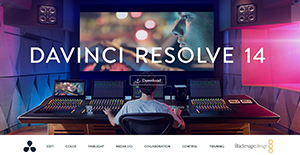 Logo of DaVinci Resolve 14