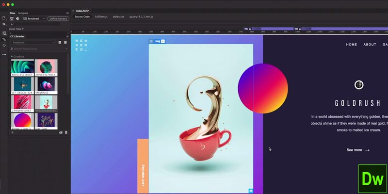 A Complete Website And Mobile Content Visual Development Software, Adobe  Dreamweaver CC Is First On Our List Of Top 20 Graphic Design Software List.