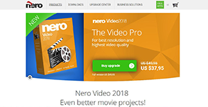 Logo of Nero Video 2018