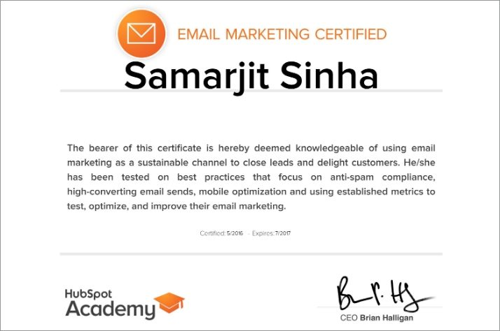 Is HubSpot\'s Email Marketing Certification Worth Your Time ...