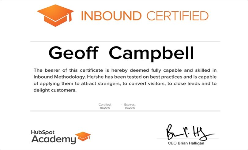 Is HubSpot\'s Inbound Marketing Certification Worth Your Time ...