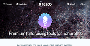 Logo of Razoo Premium for Nonprofits