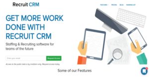 Logo of Recruit CRM