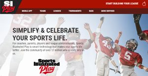Logo of Sports Illustrated Play (SI Play)