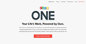 Logo of Zoho One