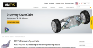 Logo of ANSYS Discovery SpaceClaim