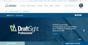 Logo of DraftSight