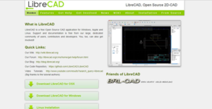Logo of LibreCAD