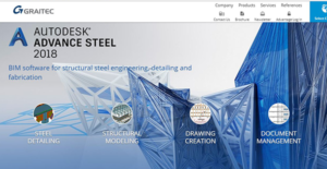 Logo of Autodesk Advanced Steel