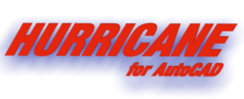Logo of Hurricane for AutoCAD