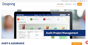 Logo of Onspring Audit Software