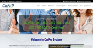 Logo of CarPro Systems