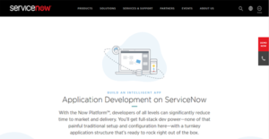 Logo of ServiceNow Application Development