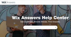 Logo of Wix Answers