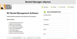 Logo of Rental Manager eXpress