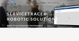Logo of Servicetrace Robotic Solutions
