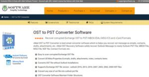 Logo of vMail OST to PST Converter