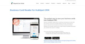Logo of Business Card Reader for HubSpot CRM