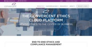 Logo of Convercent Ethics Cloud Platform