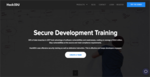 Logo of HackEDU Secure Development Training