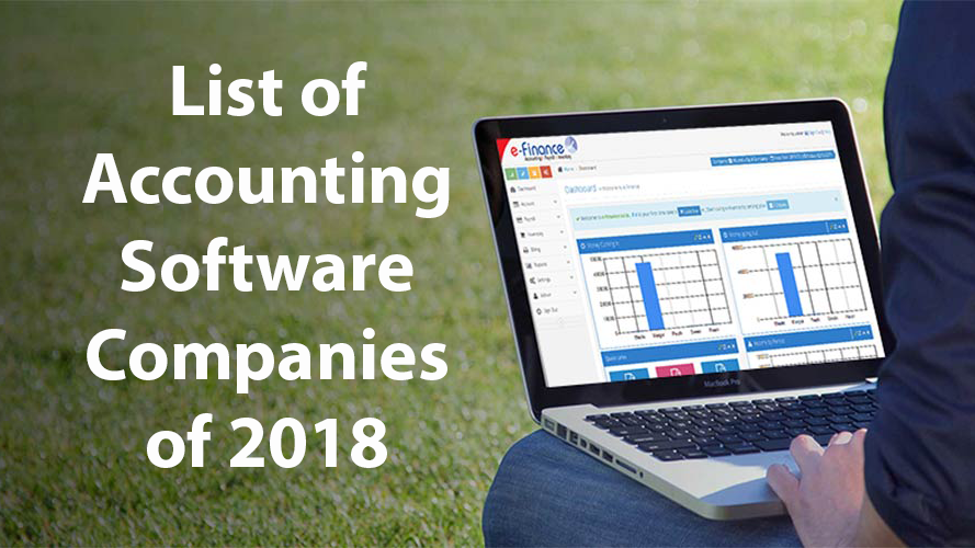 List of Accounting Software Companies