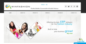 Logo of WinFashion ERP