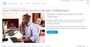 Logo of Cisco Unified Communications Manager