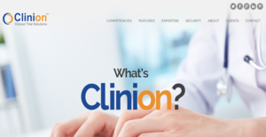 Logo of Clinion