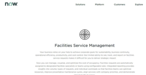 Logo of ServiceNow Facility Management
