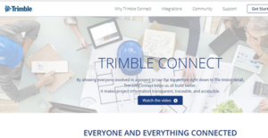 Logo of Trimble Connect