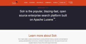 Logo of Apache Solr