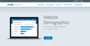 Logo of LinkedIn Website Demographics