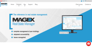 Logo of Magex Real Estate Manager