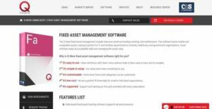 Logo of Q Ware Fixed Asset Management Software