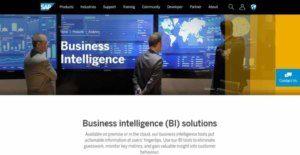 Logo of SAP Business Intelligence Platform