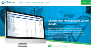 Logo of ClinPlus CTMS