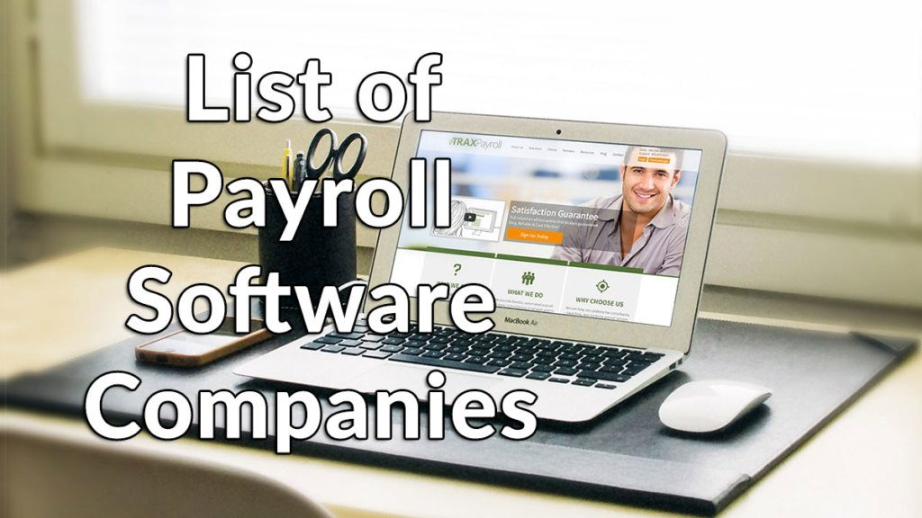 List of Payroll Software Companies